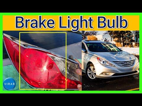 How to Replace Brake Light Bulb – Hyundai Sonata (2011-2014)