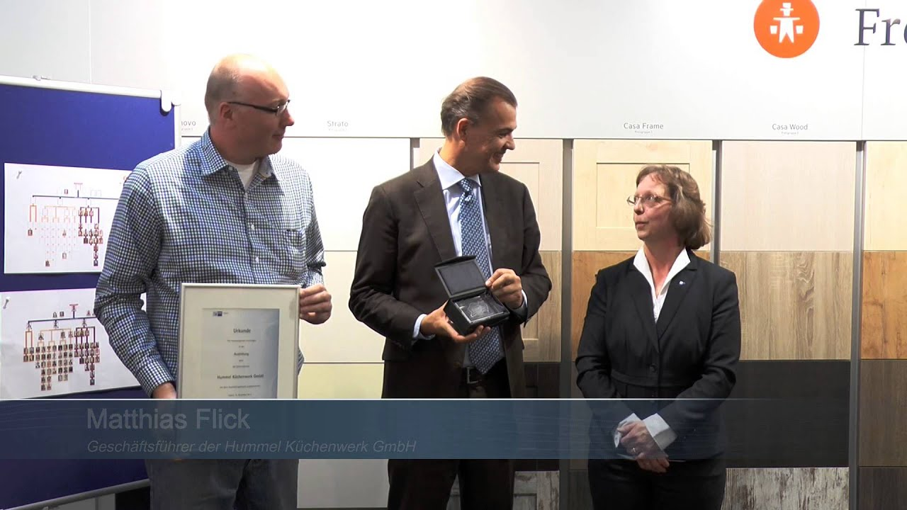 Küchenwerk ihk ausbildungs award 2013 für das küchenwerk hummel in norderstedt