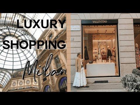 COME LUXURY SHOPPING IN MILAN | LV, CHLOE, FENDI, DIOR, PRADA | MON MODE