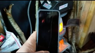 CHARGE IPHONE FROM FIRE?