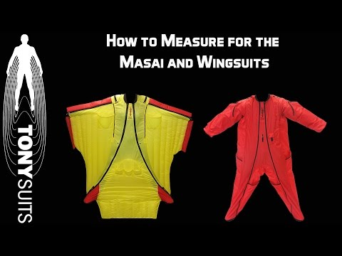 How to Measure for Wingsuits and the Masai