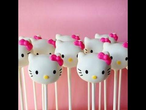 c0f1be05f HOW TO make Hello Kitty CAKE POPS/ HowHacks - YouTube