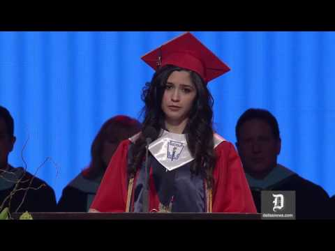 McKinney Boyd valedictorian reveals unauthorized immigration status in graduation speech