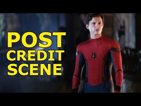 LEAKED POST CREDIT SCENE FOR SPIDER-MAN FAR FROM HOME