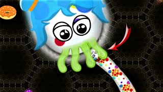 Wormate.io Worms Wrap In Wrap/Trapped Worm Escape Ever Wormateio Gameplay! Epic Gameplay