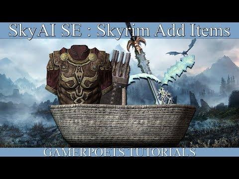 SkyAI SE : Skyrim Add Items