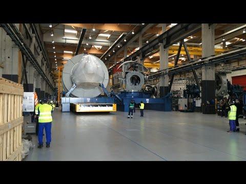 A l'usine GE de Saint-Nazaire, la première éolienne offshore est prête !