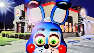BURGER-EATING BONNIE! | Bonnie Visits Burger King (Gmod FNAF)