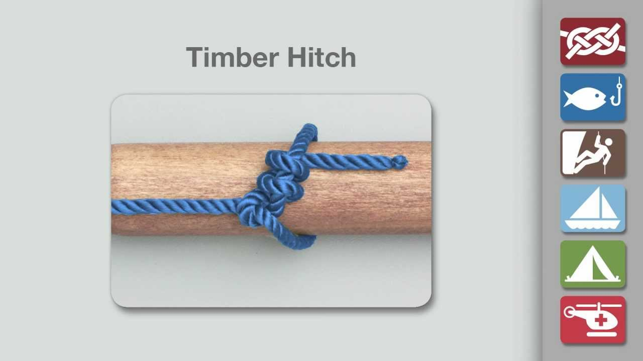 Image result for timber hitch