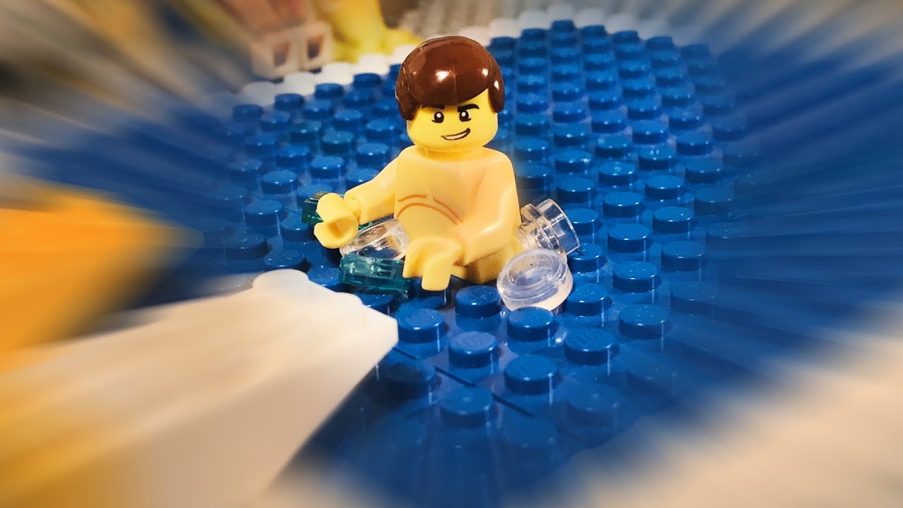 Lego Swimming Pool Fail