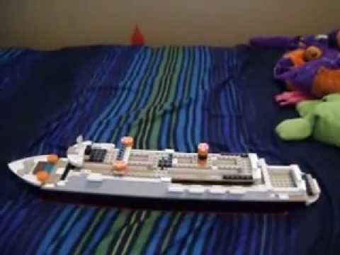 Lego Toy Poseidon Titanic Cruise Ship Youtube