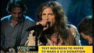Скачать Billy Joel Aerosmith Springsteen Jimmy Fallon Under The Boardwalk Hurricane Sandy Concert
