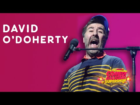 David O'Doherty - 2019 Melbourne Comedy Festival Opening Night Comedy Allstars Supershow