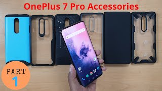 Best Accessories for OnePlus 7 Pro | Back Case Cover | Skins | Screen Protector | Hindi