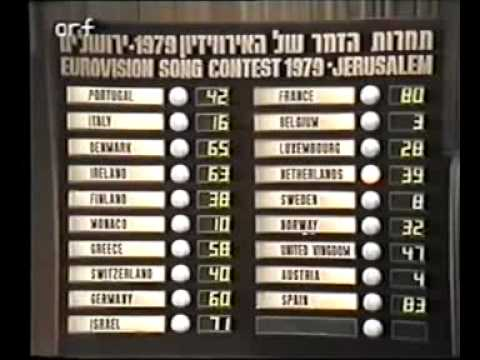 Eurovision 1979 - Voting Part 4/5