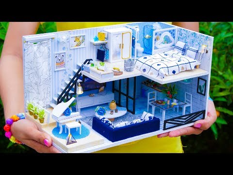 5 Diy Miniature Dollhouse Rooms New Kak Pozdravit S Dnem Rozhdeniya