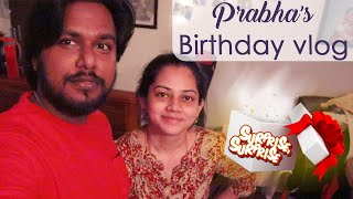 Prabha's Birthday Vlog | Cooking | Surprise Gift | Anithasampath Vlogs