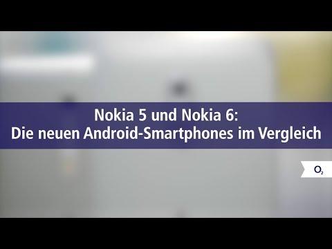Nokia 5 und Nokia 6: Die neuen Android-Smartphones im Vergleich