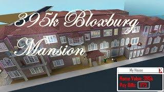 ROBLOX BLOXBURG 395K MANSION TOUR