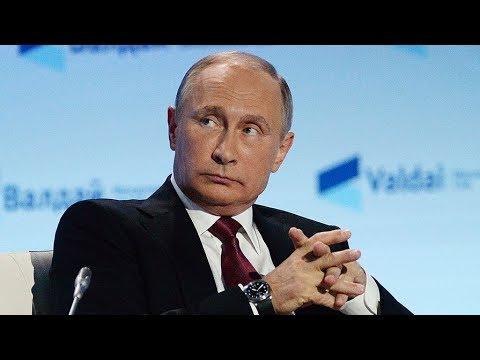 Выступление Путина на пленарной сессии дискуссионного клуба 'Валдай-2017'. Прямая трансляция