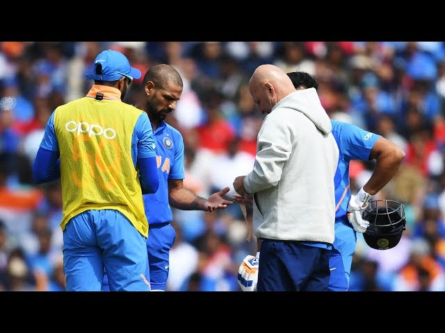 Shikhar Dhawan ruled out; Pant to come in