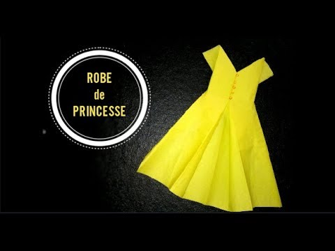 Pliage De Serviette Robe De Princesse Inspiration Origami Youtube