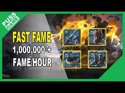 Albion - Fast fame guide (1m+ fame/hour)