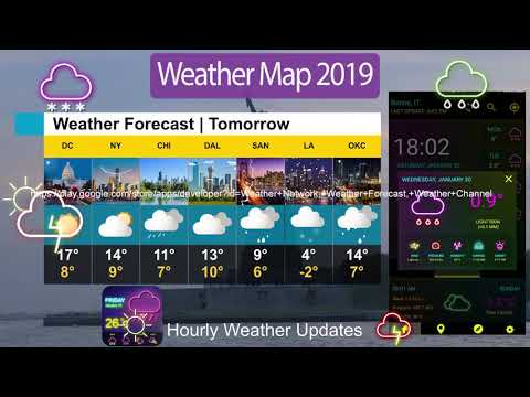Live Weather Forecast Weather Channel Weather Map   Apps on