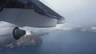 Departure & Approach - Faroe Islands (Atlantic Airways)