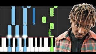 Juice Wrld - Robbery (EASY Piano Tutorial)