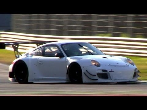 2013 Porsche 997 GT3 R - Full Throttle Accelerations & Fly Bys Sound