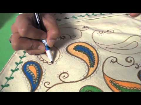tulip fabric markers how to use