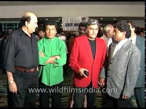 Prem Chopra, Johnny Lever, Mohan Joshi, Asrani at  release of film Heeralal Pannalal