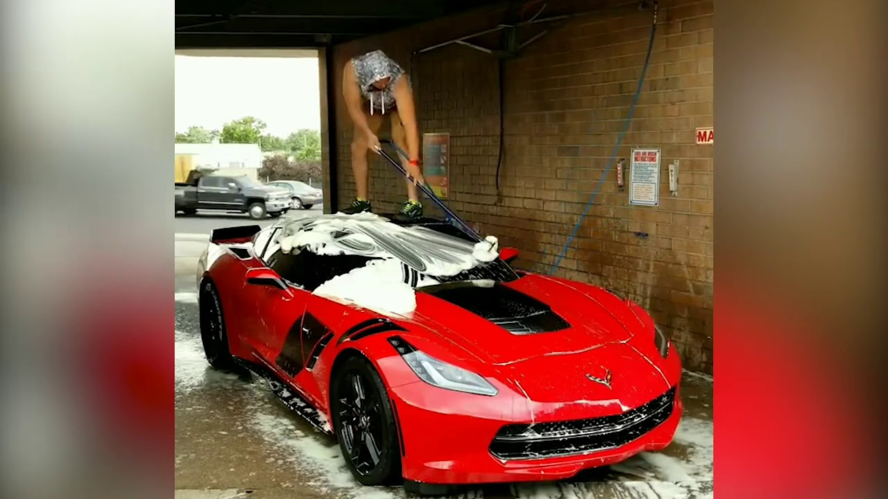 Video How Do You Wash Your Corvette I Bet It S Not Like
