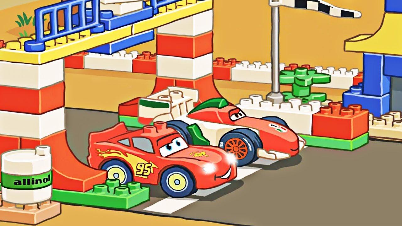 Lego Duplo Race Car Flash Games