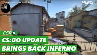 Baixar New patch hits CS:GO Beta Depot bringing back Inferno.