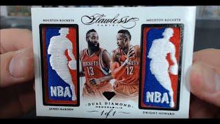 2014-15 Panini Flawless Basketball 2 Box Case Break #1 Dual Logoman!