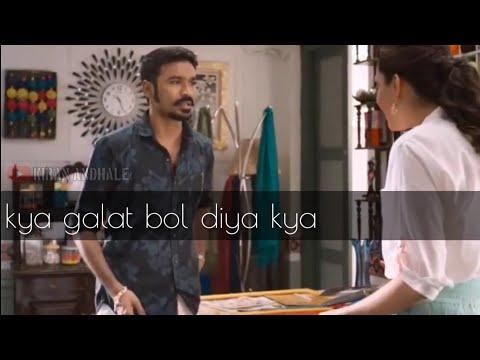 Maari Bhai Propose Screen    I Love You    Attitude Dj Mix    2018 Whatsapp Status#347