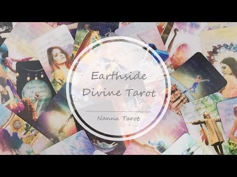 開箱  地神塔羅牌 • Earthside Divine Tarot // Nanna Tarot