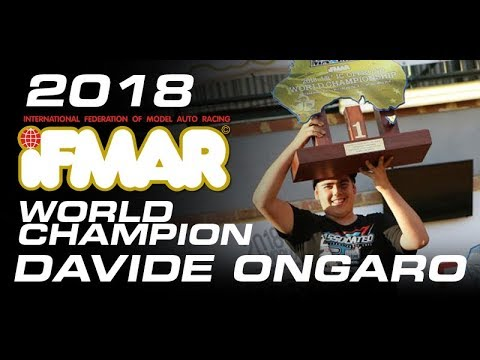 Davide Ongaro & Team Associated\'s first 1:8 off-road world title
