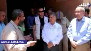 بالفيديو والصور.. وزير الآثار ومحافظ أسوان يتفقدان دير الأنبا 'سمعان'
