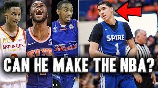What NBA Draft History Tells Us About Lamelo Ball's Future | Will He Make The NBA?