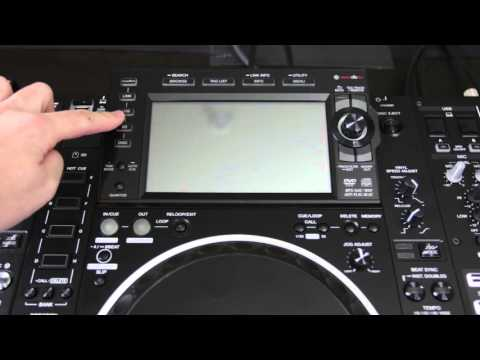 CDJ2000nxs2: Updating Firmware