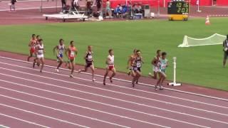 2016 岡山インターハイ陸上 男子3000mSC予選3