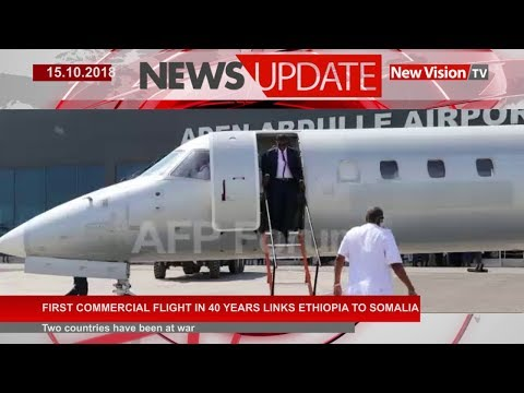 First commercial flight in 40 years links Ethiopia to Somalia