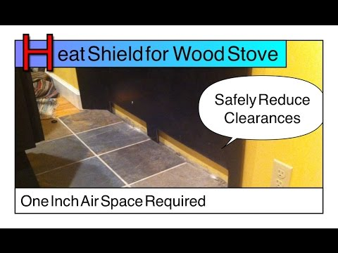 Heat Shield, Certified Wall Pass Through Wood Stove - Flue Guru - Heat Shield, Certified Wall Pass Through Wood Stove - Flue Guru