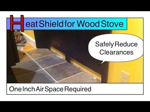 Heat Shield, Certified Wall Pass Through Wood Stove - Flue Guru - YouTube - Heat Shield, Certified Wall Pass Through Wood Stove - Flue Guru