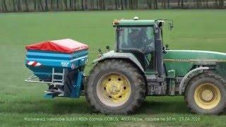 ISOBUS Rozsiewacz nawozów Sulky X50+ Econov ISOBUS, 27.04.2016