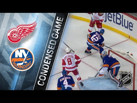 12/19/17 Condensed Game: Red Wings @ Islanders
