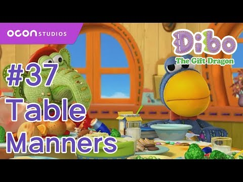 [Dibo the gift dragon] #37 Table Manners(ENG DUB)ㅣOCON